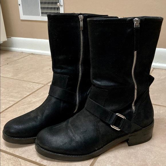 Trouve black boots women's size 9